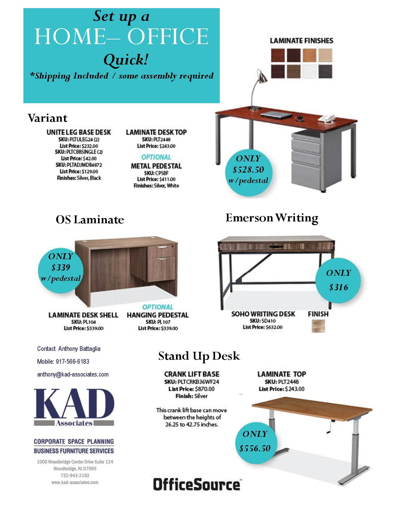 Discounts on Home Office Equipment!